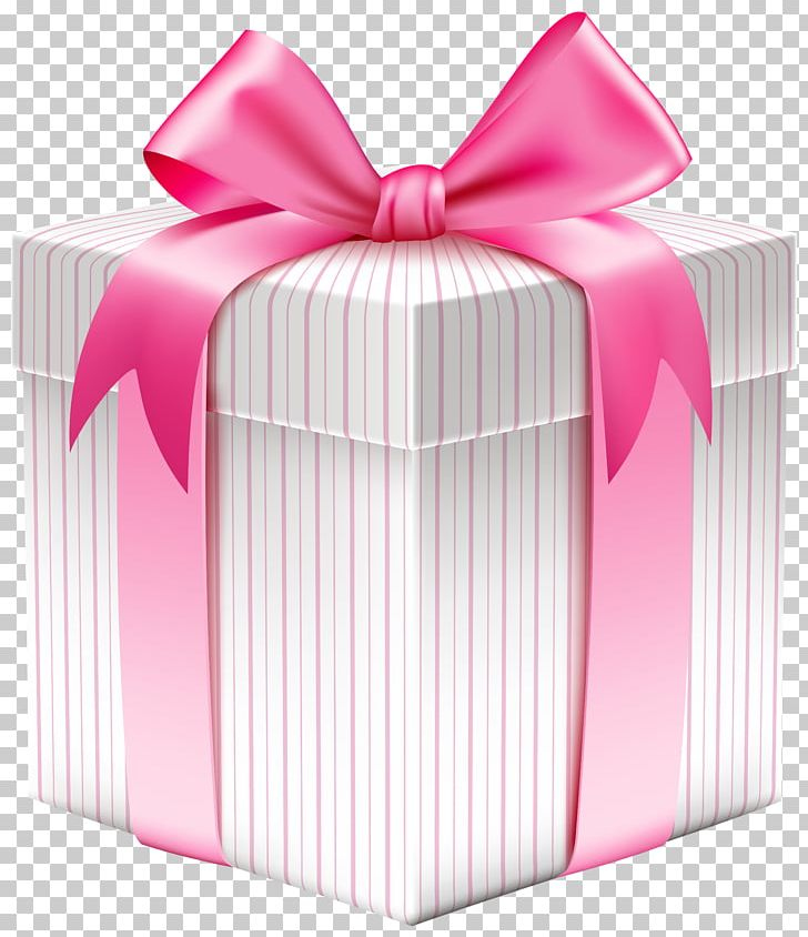 Gift clipart pink gift.