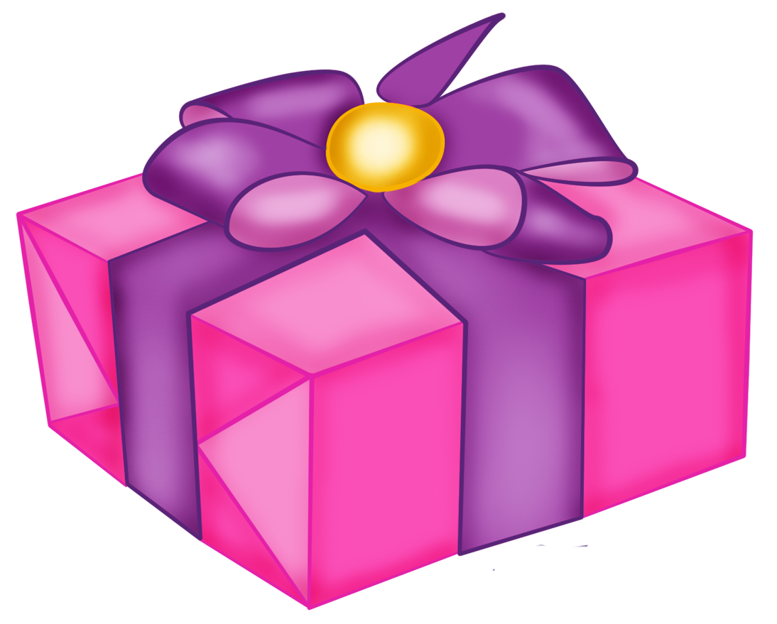 cube clipart pink