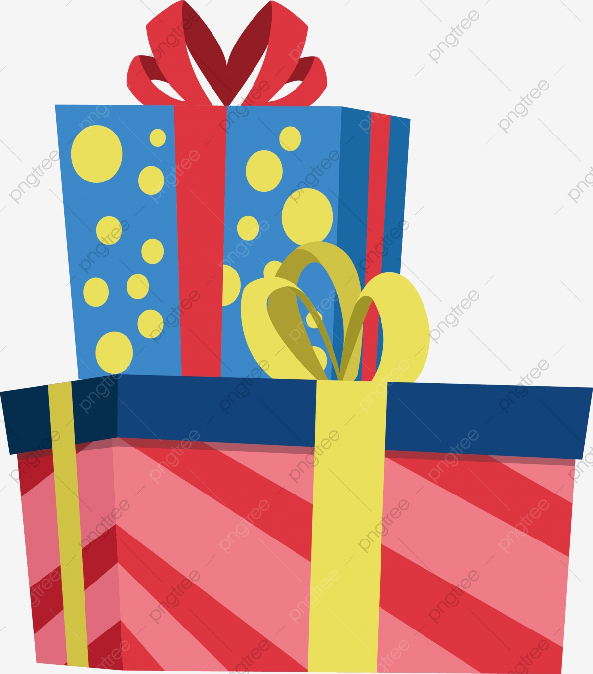 Gift clipart stack present.