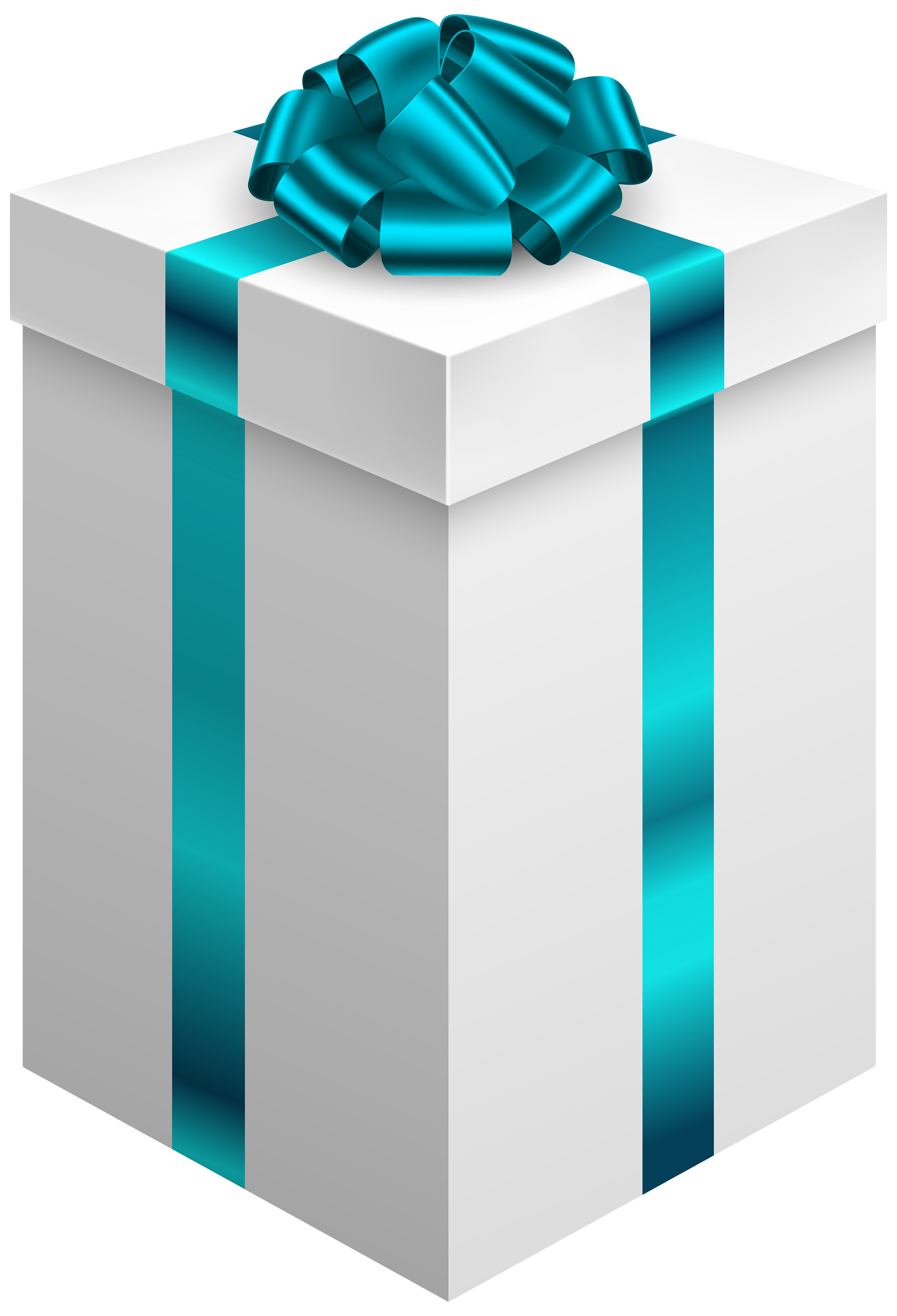 Gift clipart blue bow.