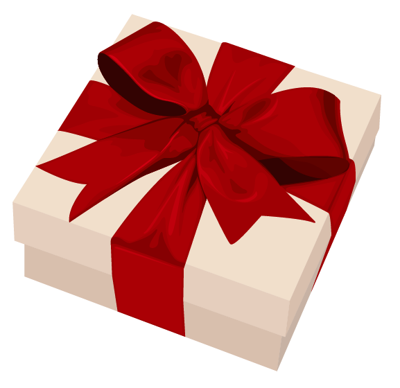 Gift clipart transparent background.