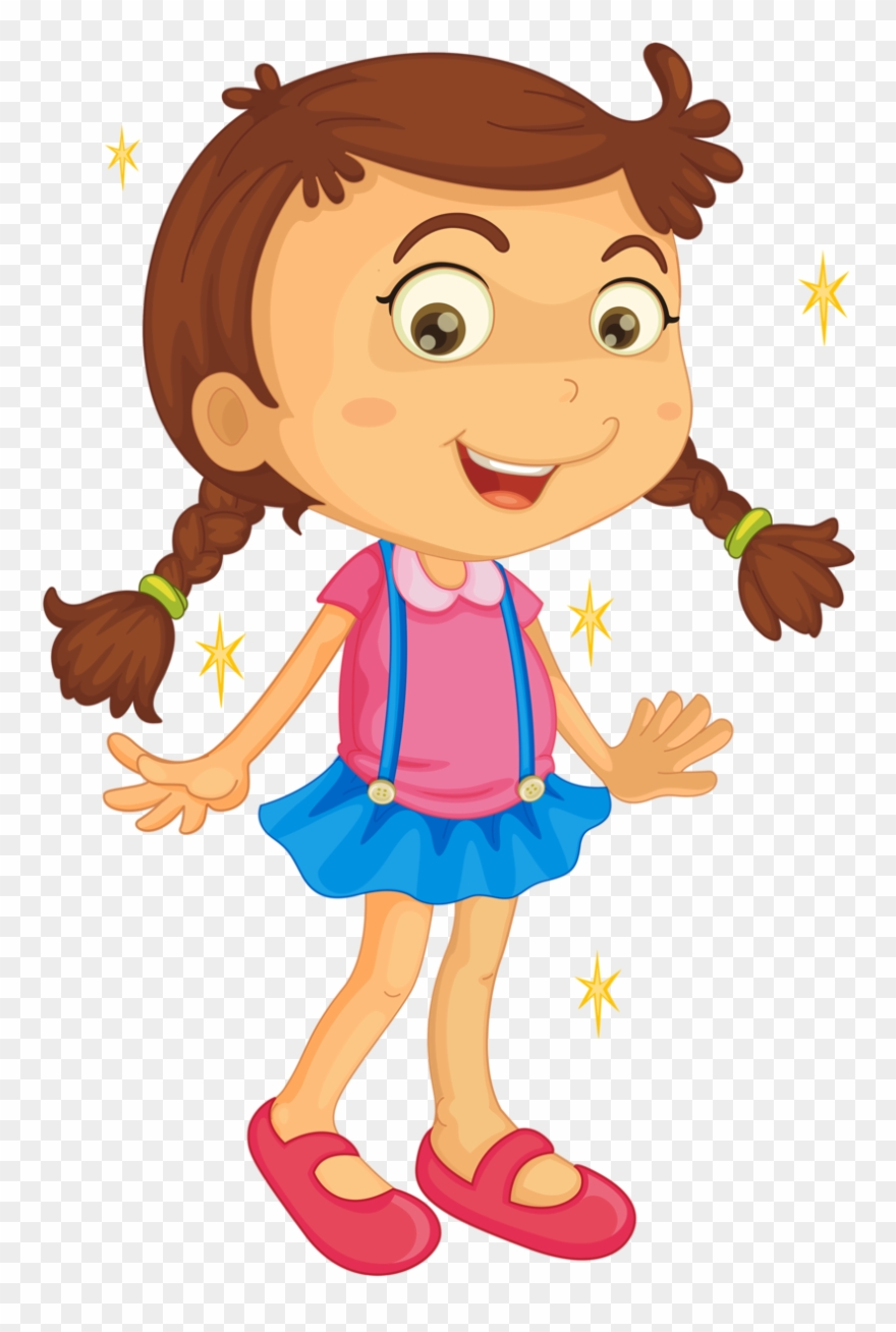 Girl clipart animated.