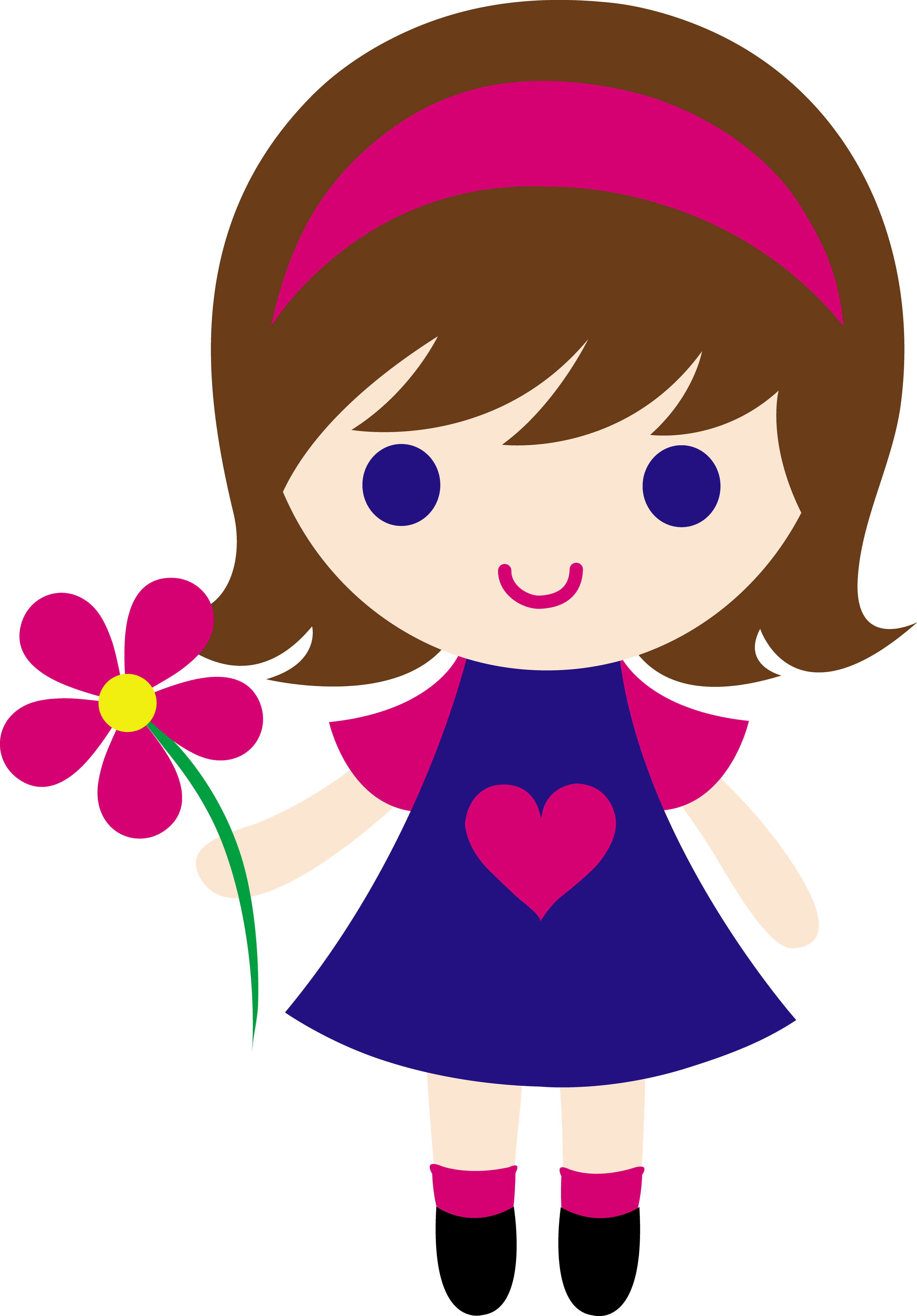 girl clipart animated