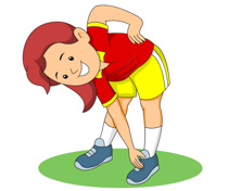 physically clipart stretching