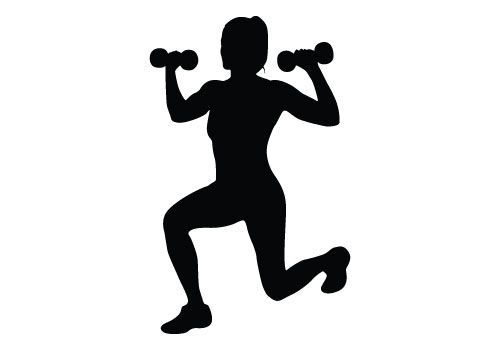 fitness clipart womens