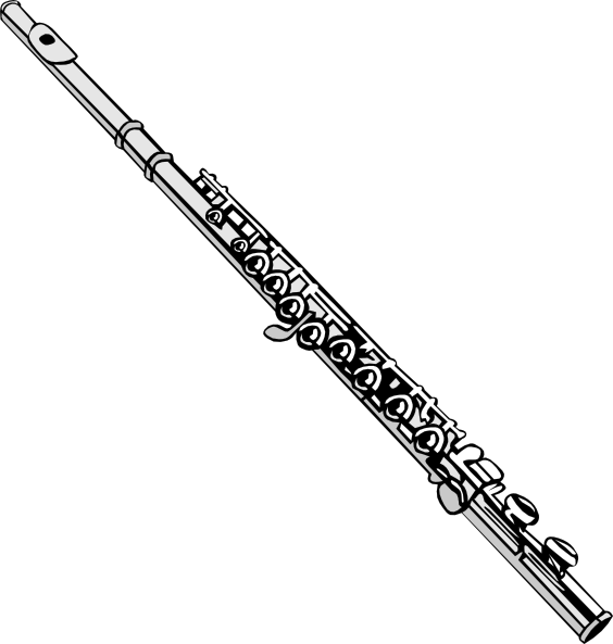 flute clipart musical instrument
