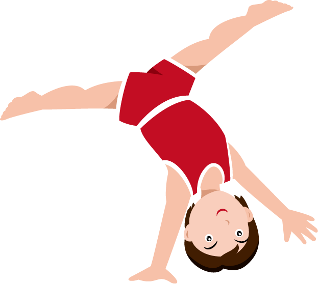 gymnastics clipart cute