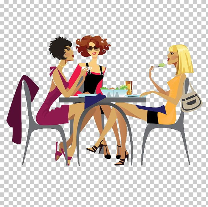 Girl clipart lunch.