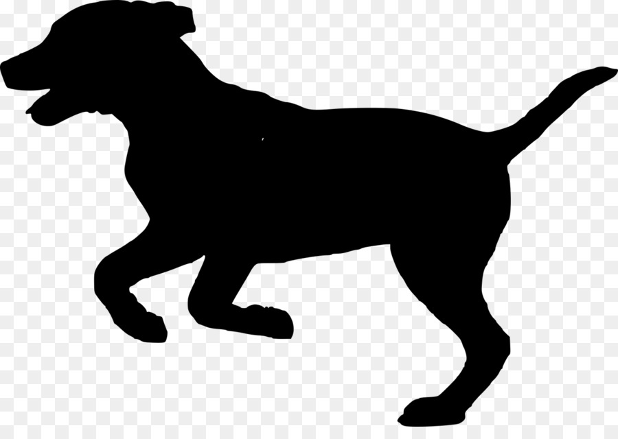 Golden retriever clipart dog silhouette.