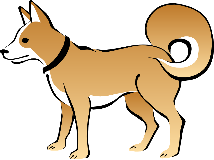 dog clipart small