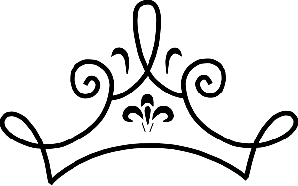 queen crown clipart simple