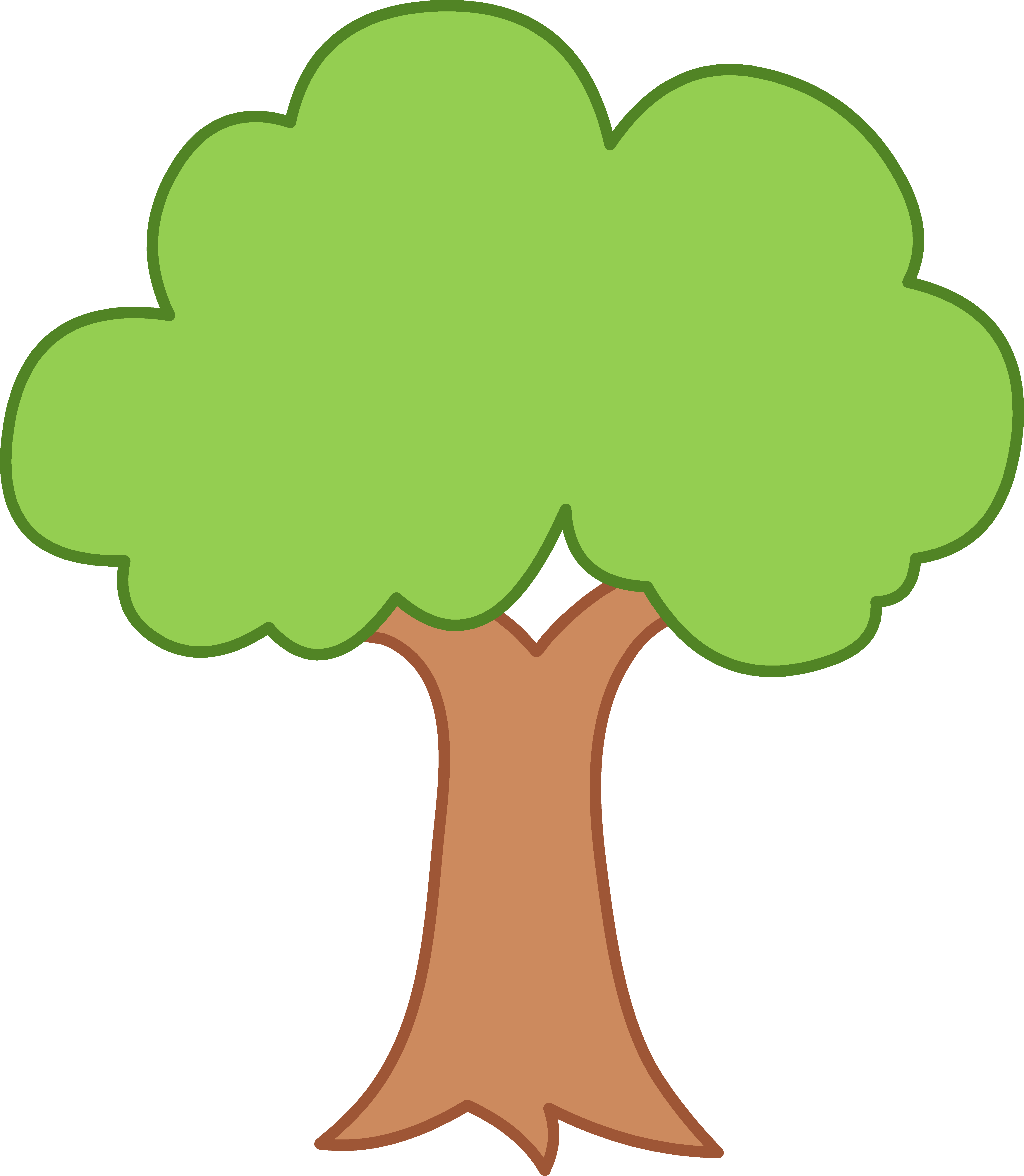 free tree clipart transparent background