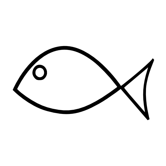 fish clipart easy