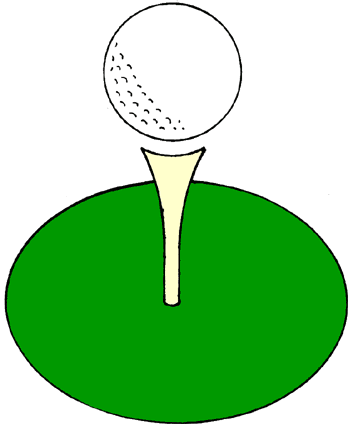 Golf clipart page.