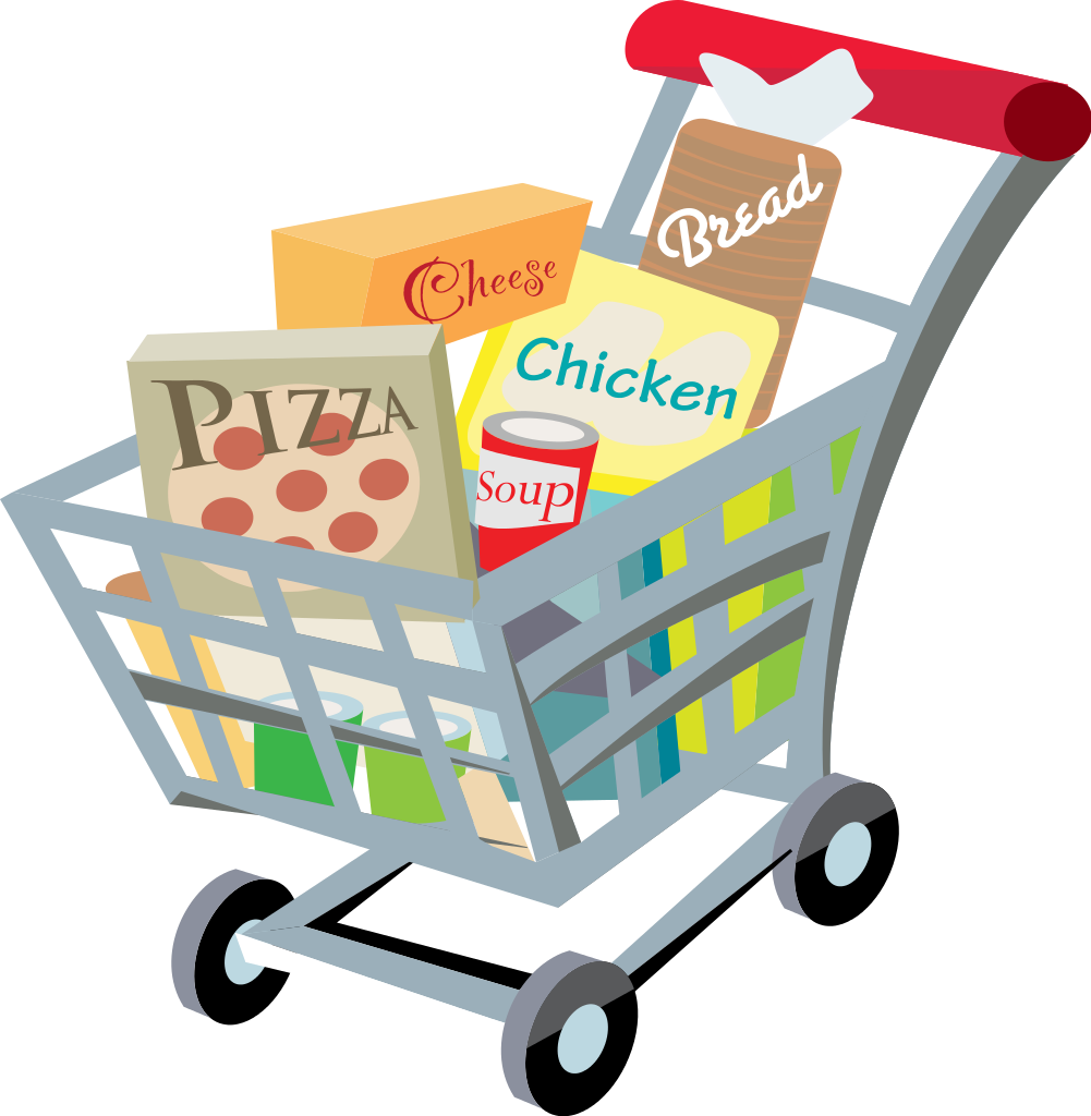 shopping carts clipart supermarket logo