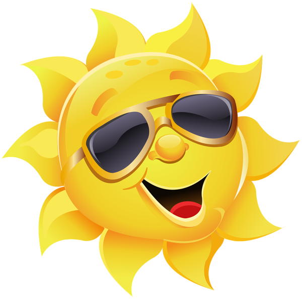 emotocon clipart summer