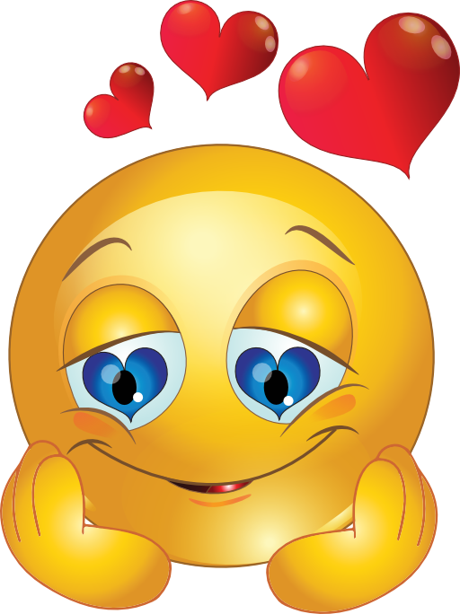 emotocon clipart love