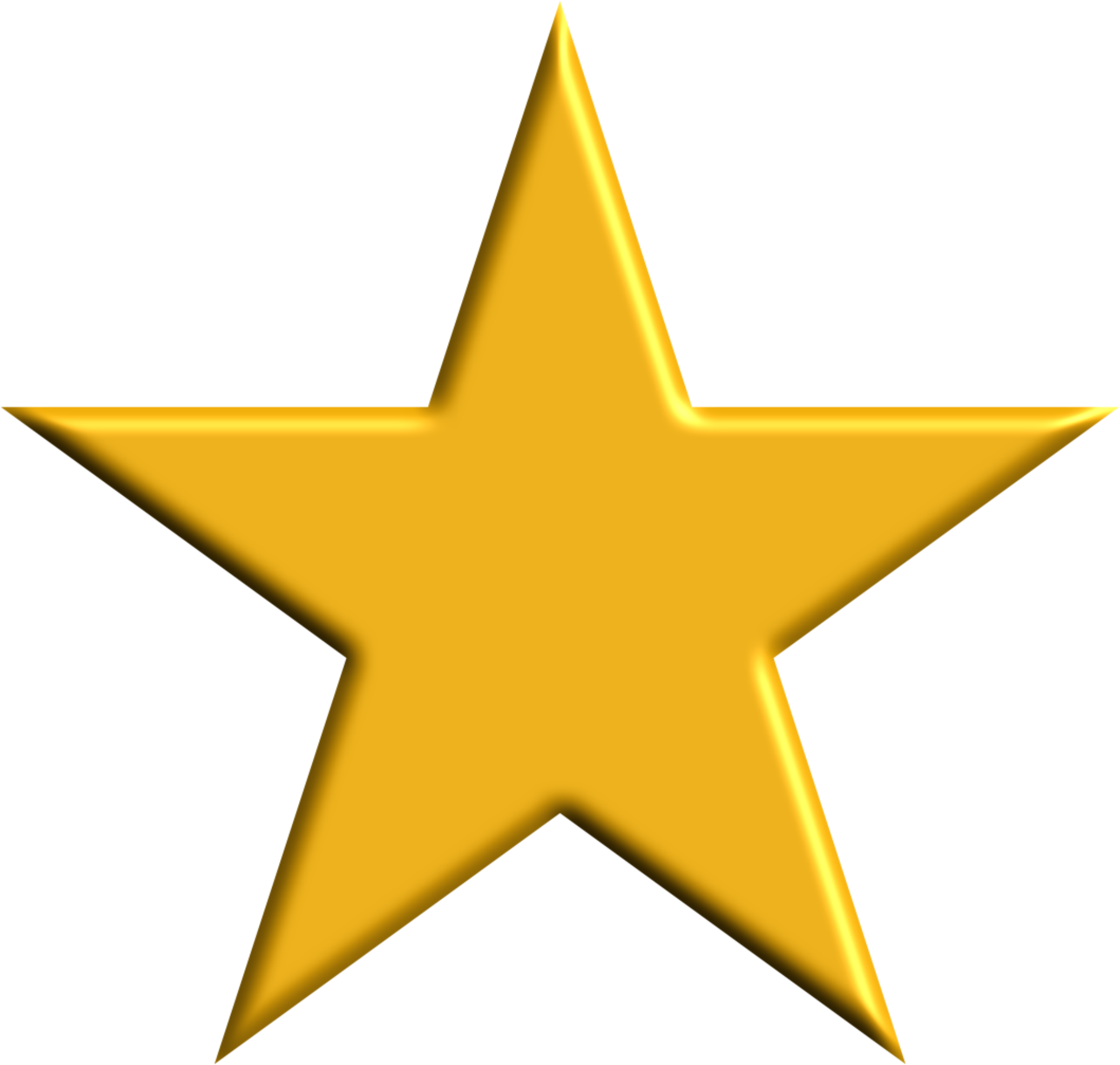gold star clipart animated