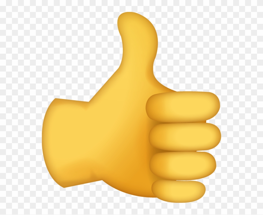 Good clipart thumbs up emoji.