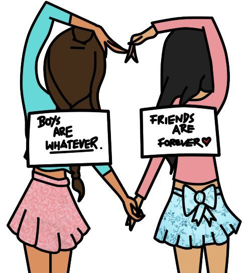 Friends clipart girls.