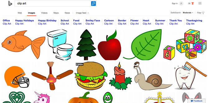 Comprised clipart screen.