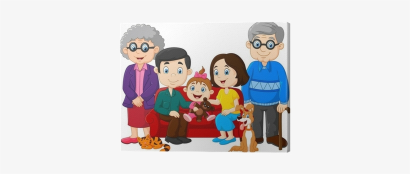 Grandparents clipart transparent background.