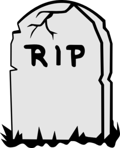 tombstone clipart halloween