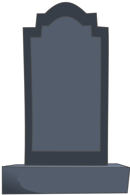 gravestone clipart old tombstone