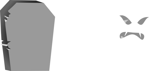 tombstone clipart blank