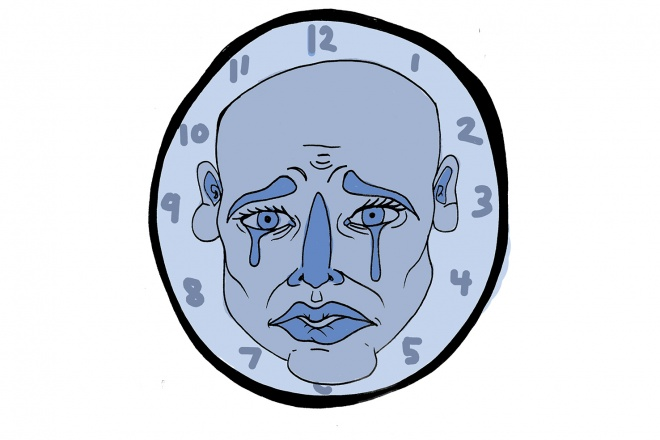Grieved clipart college student.