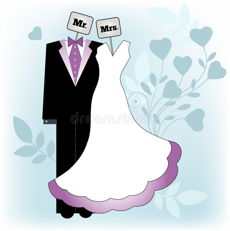 Groom clipart clipart purple.