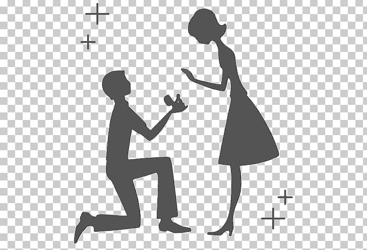 Groom clipart engagement proposal.