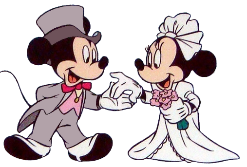 Groom clipart mickey.