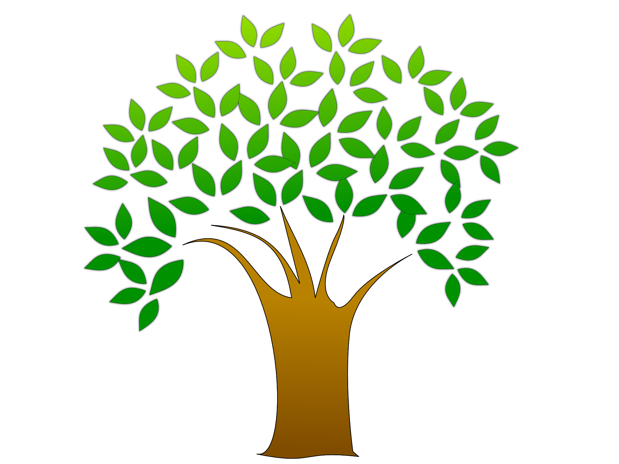 earth day clipart tree