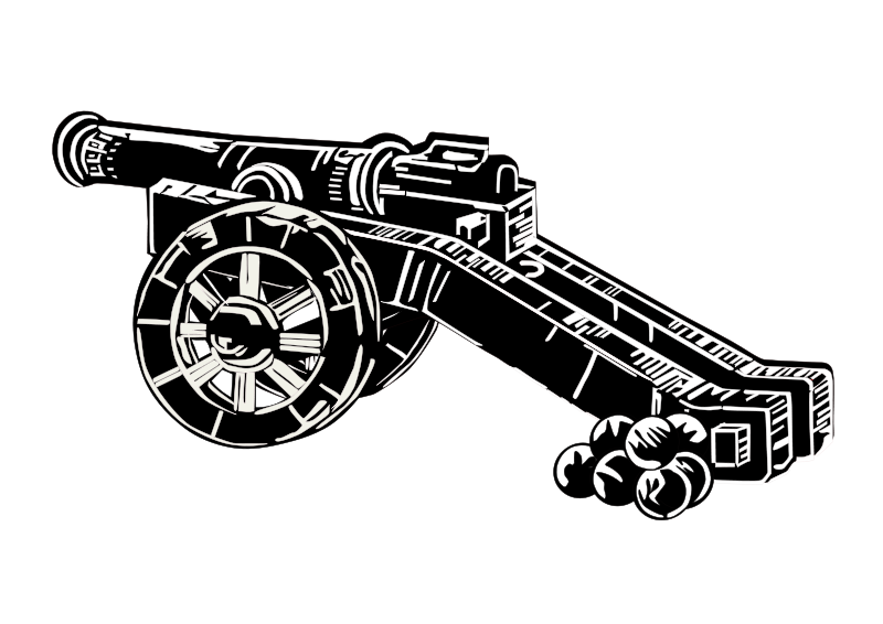 cannon clipart medieval