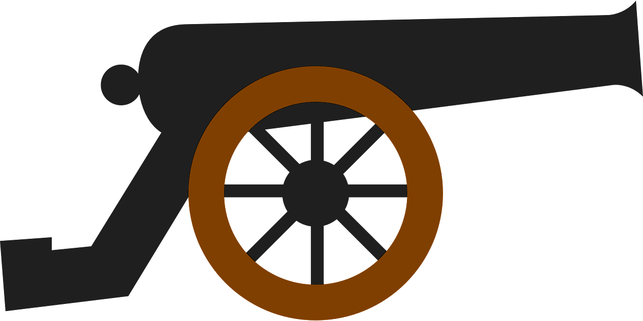 cannon clipart simple