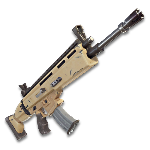 fortnite scar clipart fully upgraded