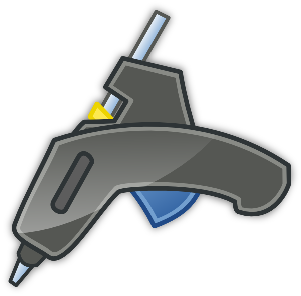 glue stick clipart gun