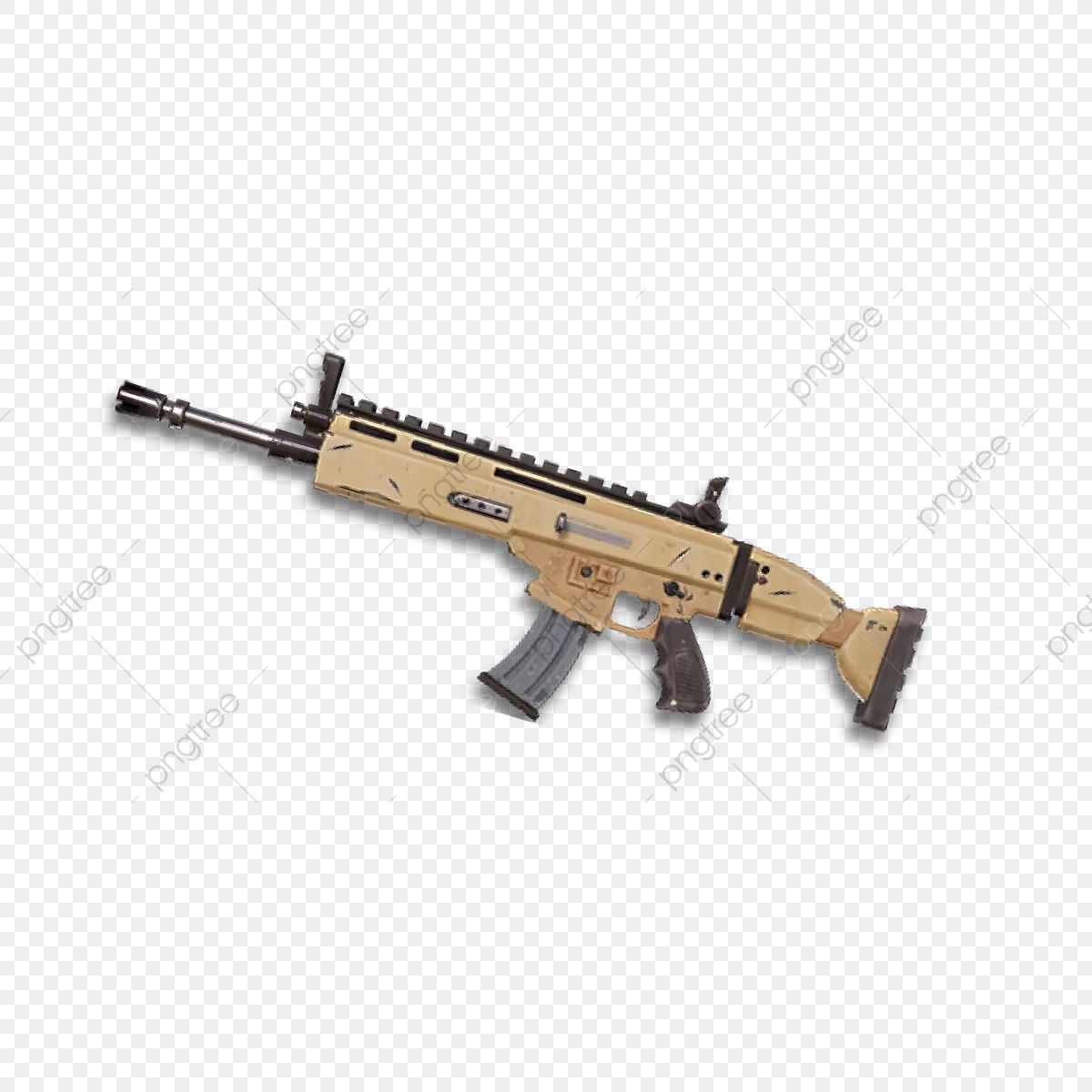 fortnite scar clipart traceable