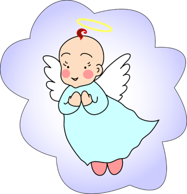 halo clipart baby
