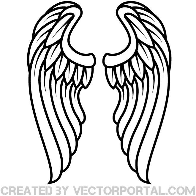 Heaven clipart wing.