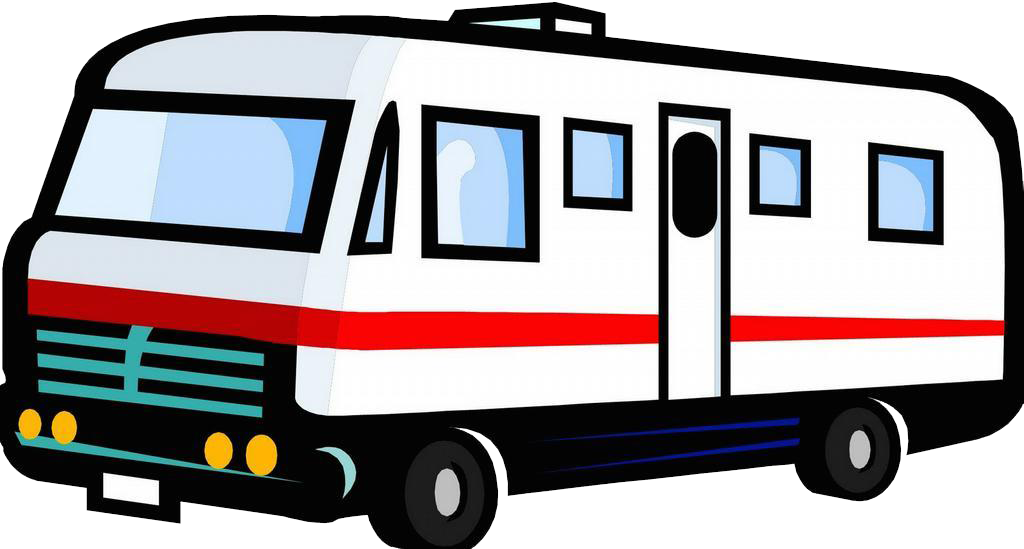 camper clipart transparent background