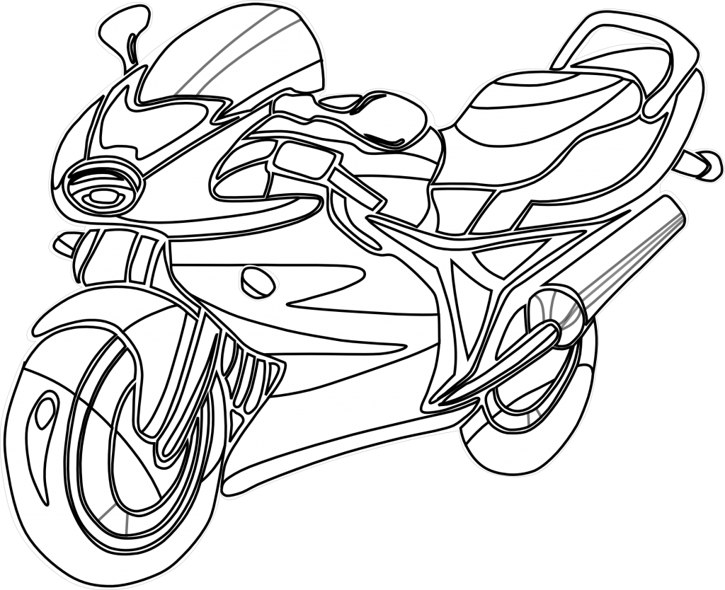 Bicycle clipart printable.