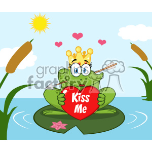 lake clipart cute
