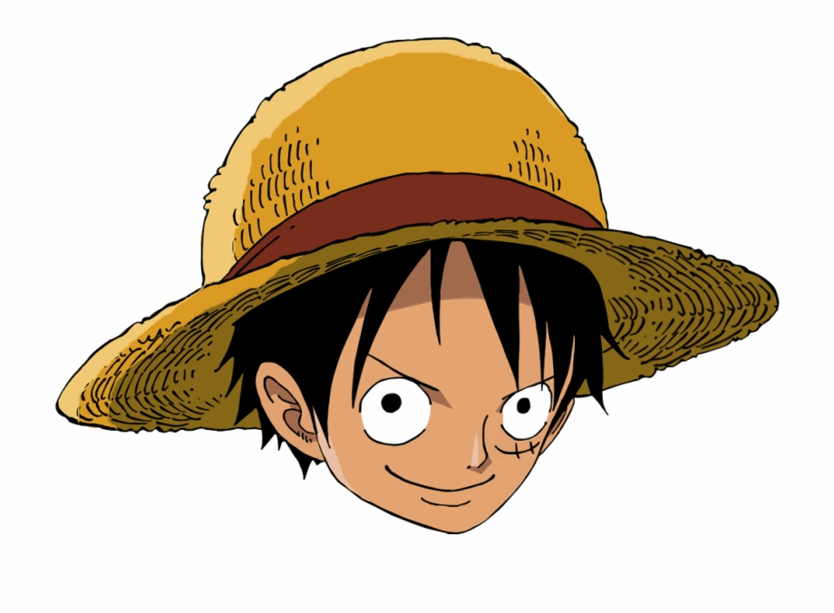 Hat clipart luffy.