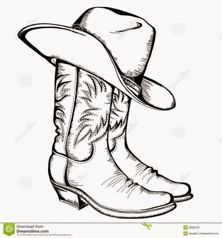 boots clipart drawing