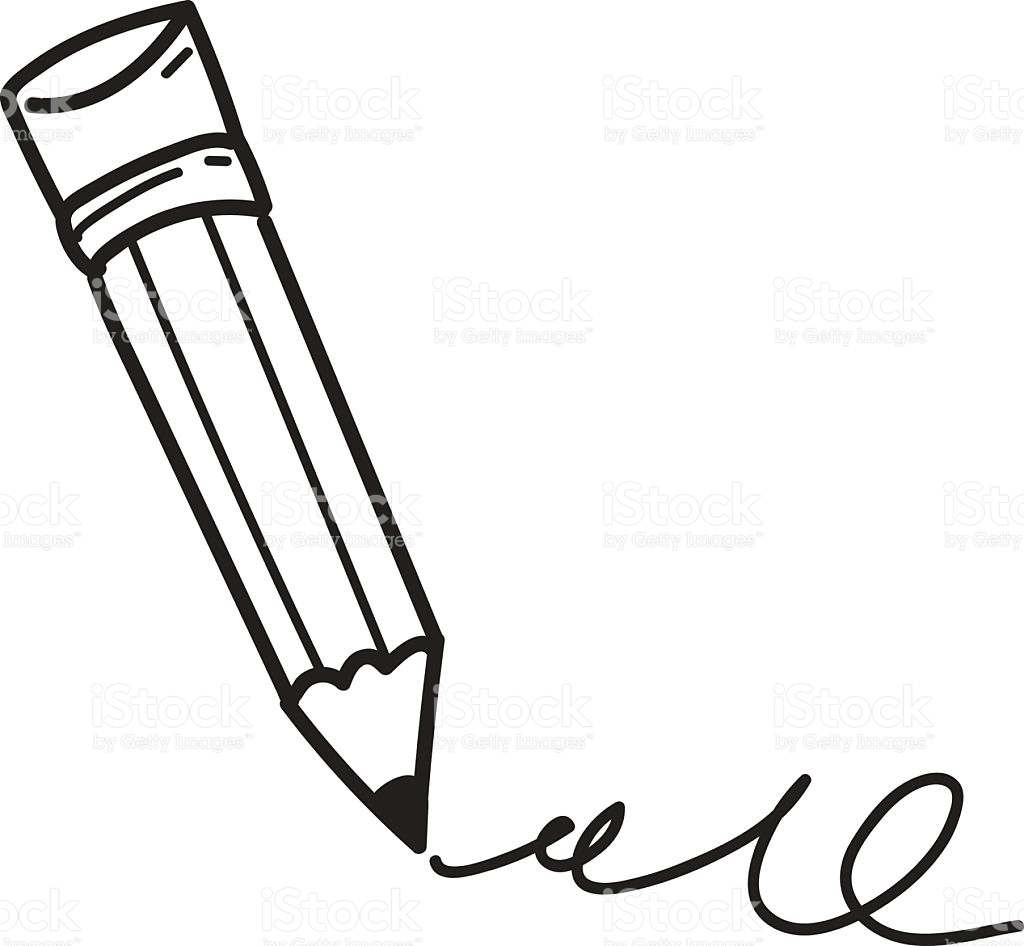 clipart pencil drawing