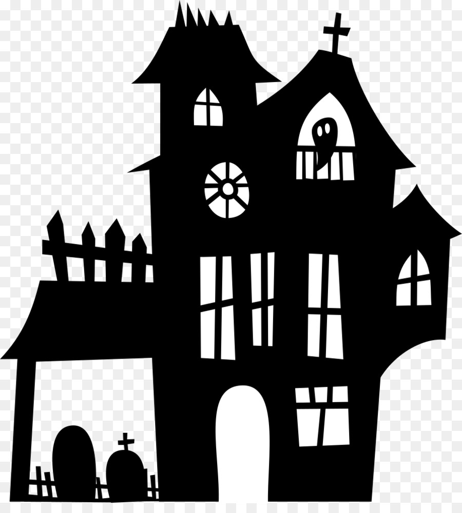 haunted house clipart ghost