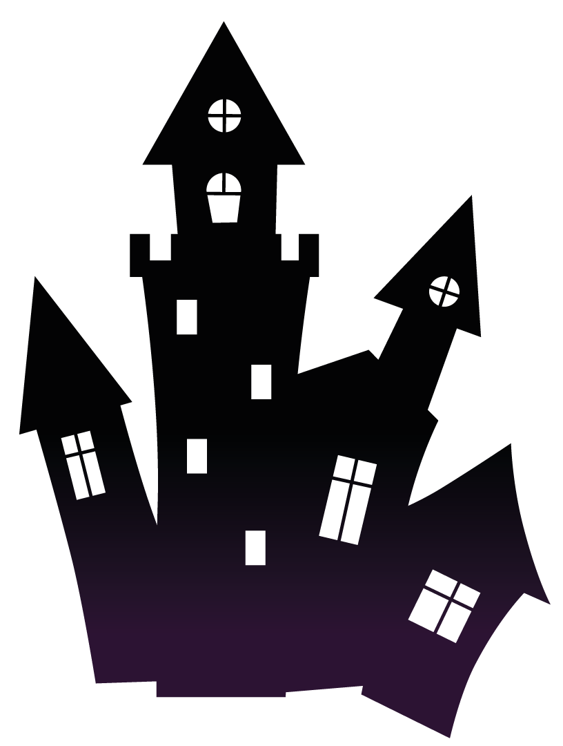 haunted house clipart transparent background