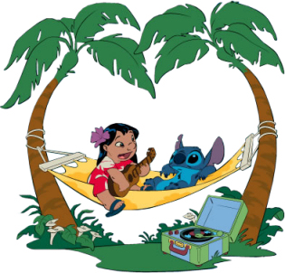 stitches clipart hawaiian